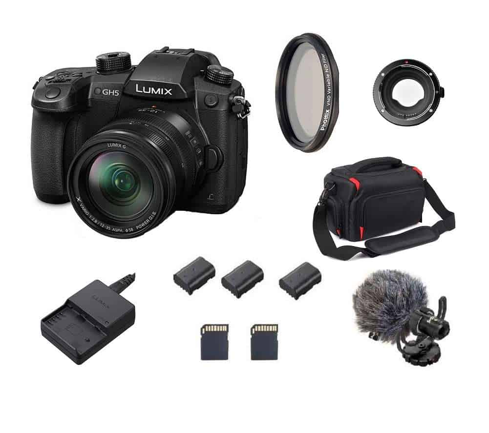 Panasonic Lumix GH5 kaamera rent