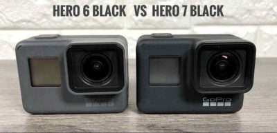 gopro hero7 vs hero6 kaamera