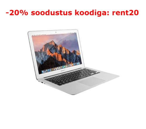 Apple MacBook Air arvuti rent
