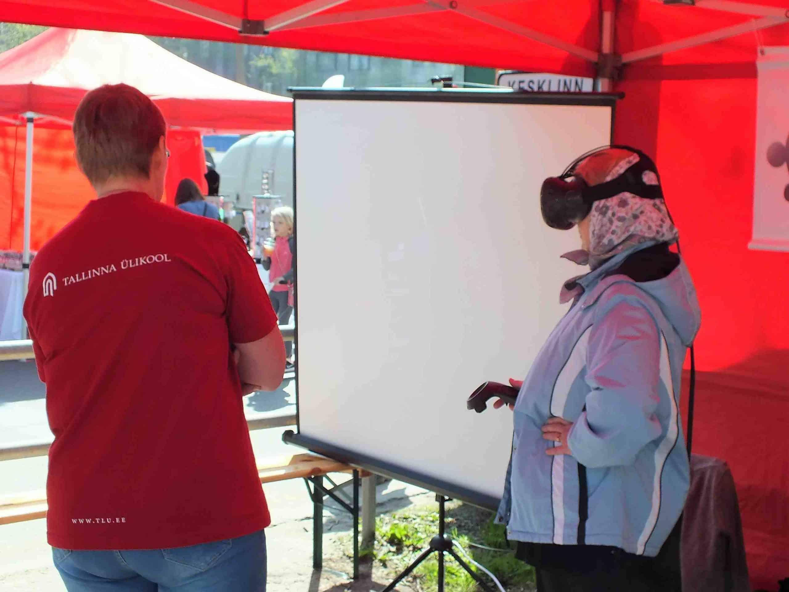 Virtuaalreaalsuse proovimine