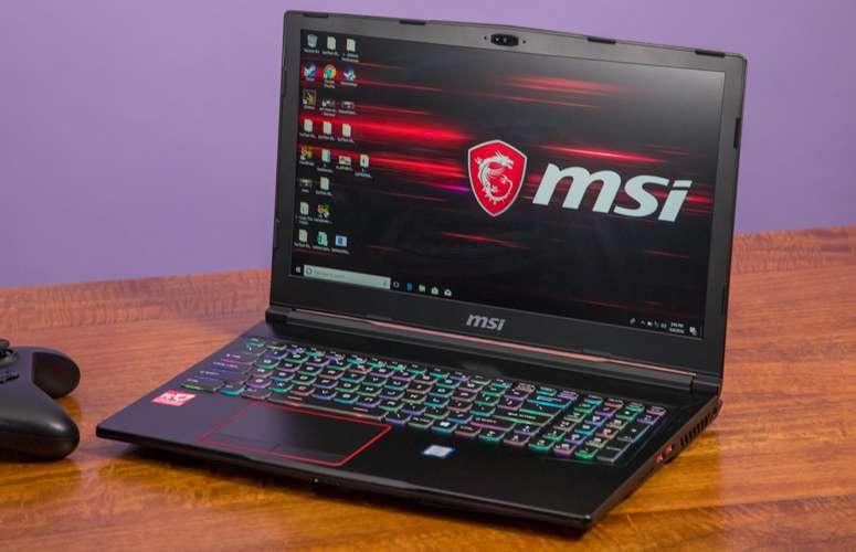 MSI GE63 arvuti rent