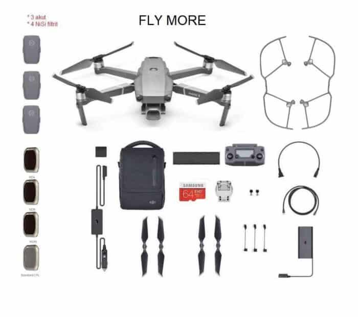 DJI Mavic 2 pro drooni Fly more combo rent