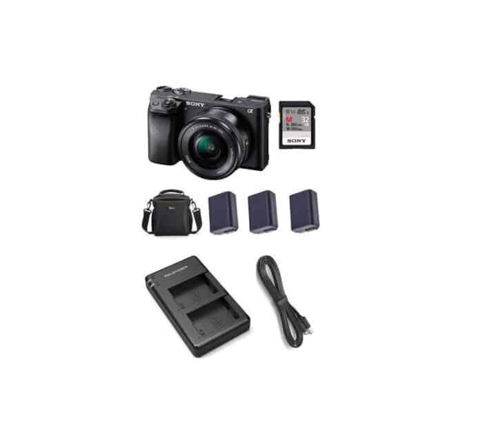 Sony a6300 kaamera rent