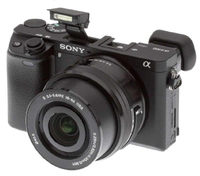 Sony a6300 kaamera rent laenutus