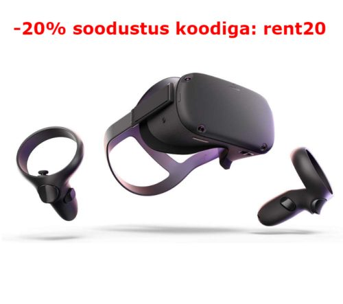 Oculus Quest VR prillide rent