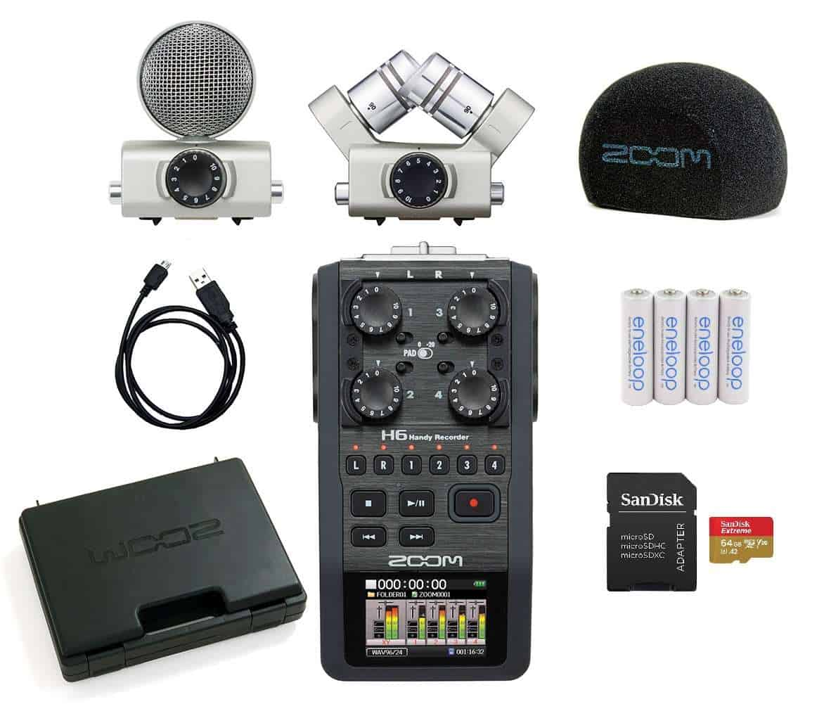 Zoom H6 audiosalvesti rent