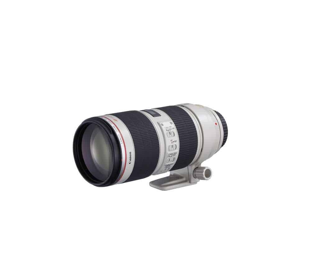 Canon EF 70-200mm f/2.8L IS II USM objektiivi rent