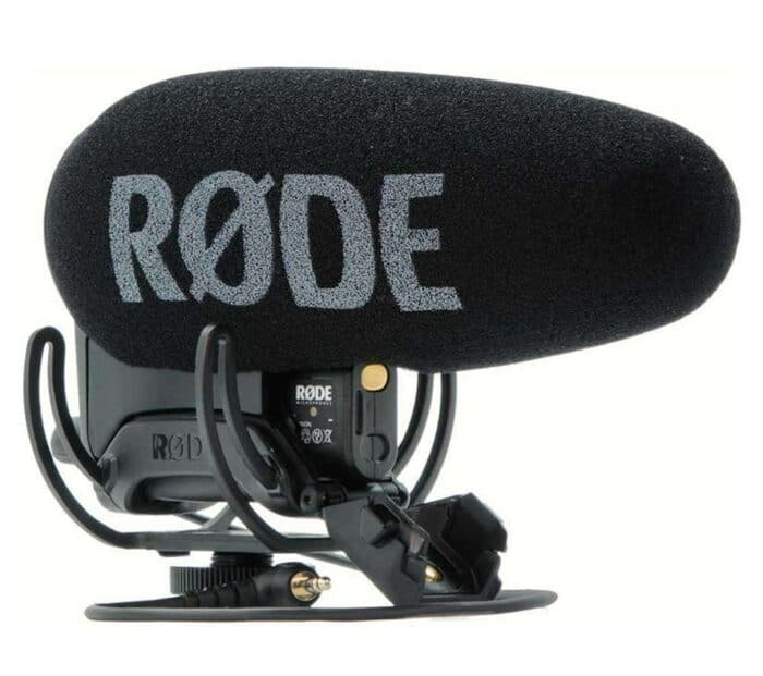 Rode VideoMic Pro+ mikrofoni rent