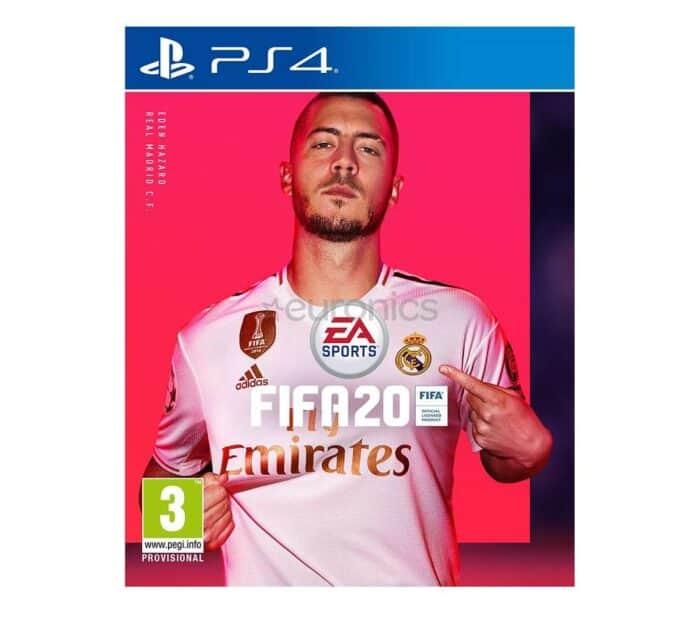 Playstation PS4 mäng Fifa 20 rent
