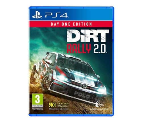 Playstation PS4 mängu laenutus Dirt Rally 2.0