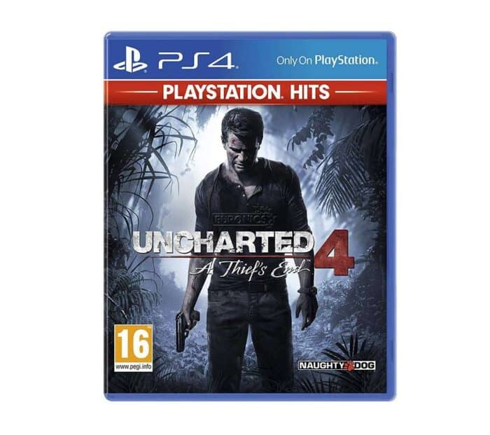 Playstation PS4 mängu rent Uncharted 4