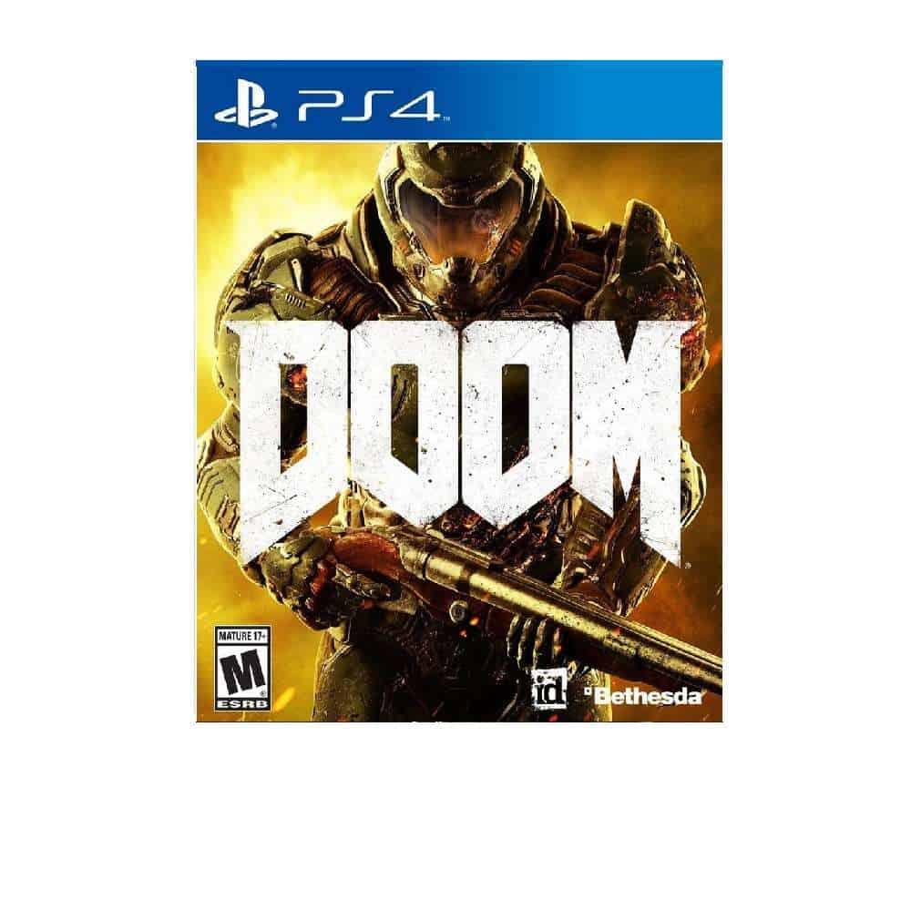 PS4 Doom rent