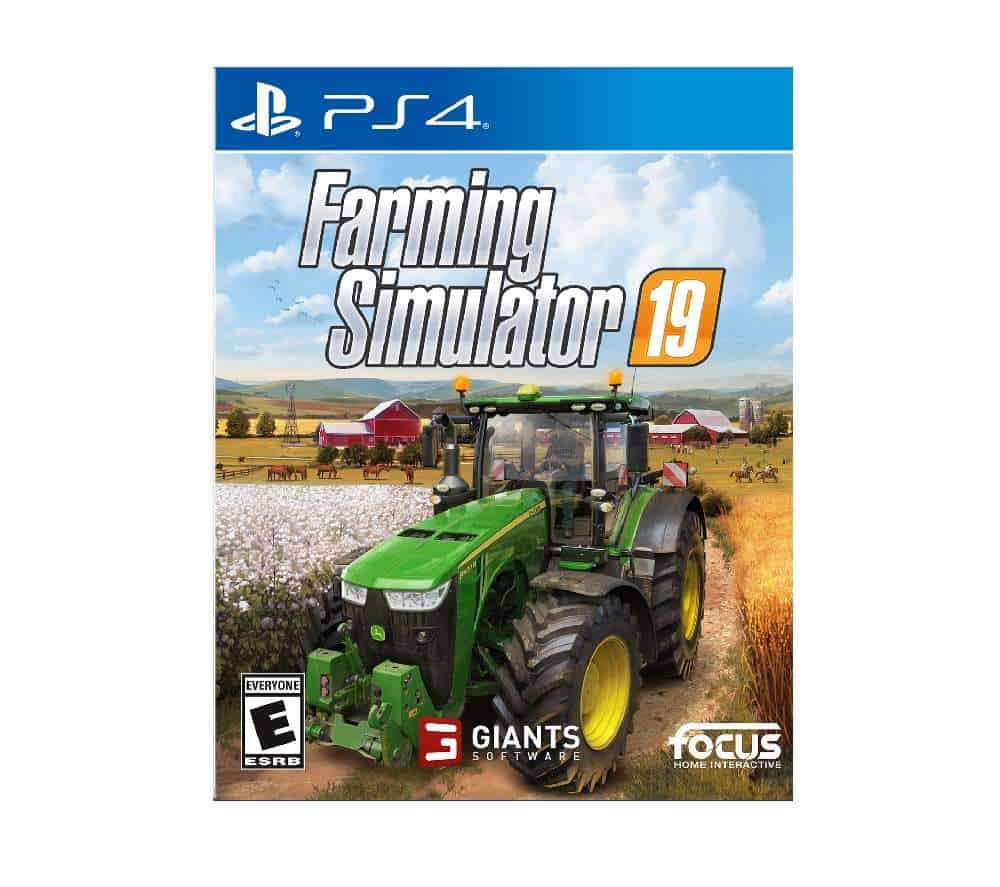 PS4 Farming Simulator 19 rent